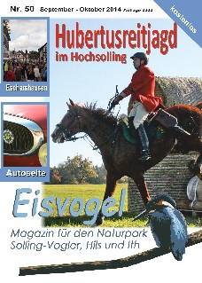 Eisvogel-Magazin Nr. 50 - September-Oktober 2014