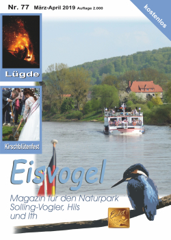 Eisvogel-Magazin Nr. 77 - März-April 2019