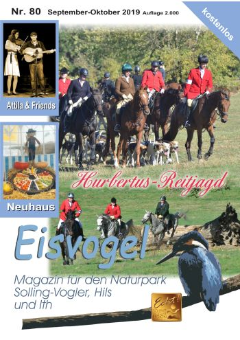 Eisvogel-Magazin Nr. 80 - September-Oktober 2019