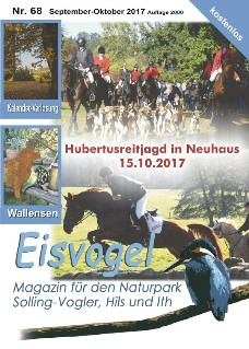 Eisvogel-Magazin Nr. 68 - September-Oktober 2017